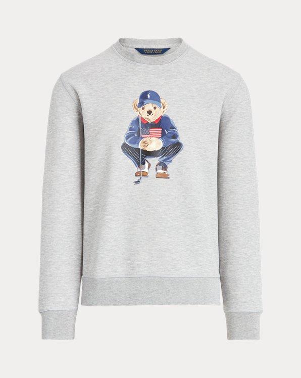 Polo Bear Double-Knit Sweatshirt