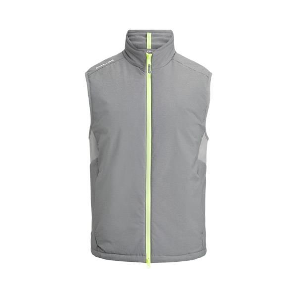 폴로 랄프로렌 남성 골프웨어 발수 조끼 Polo Ralph Lauren Water Repellent Stretch Vest,Boulder Grey Heather