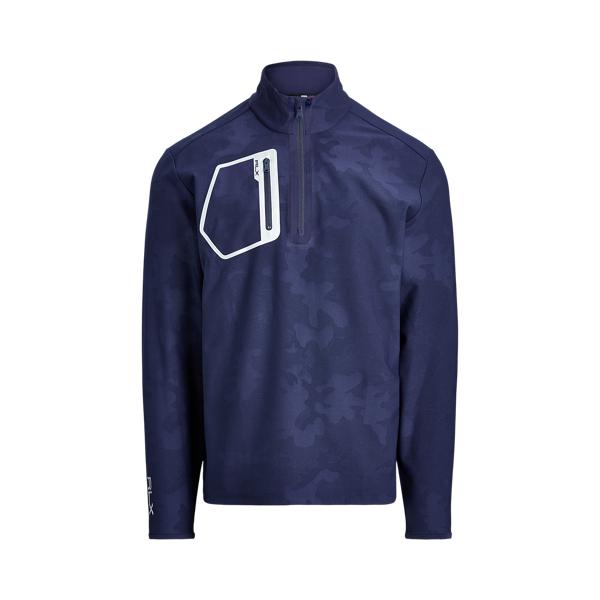 폴로 랄프로렌 남성 골프웨어 Polo Ralph Lauren Stretch Quarter Zip Pullover,French Navy Camo