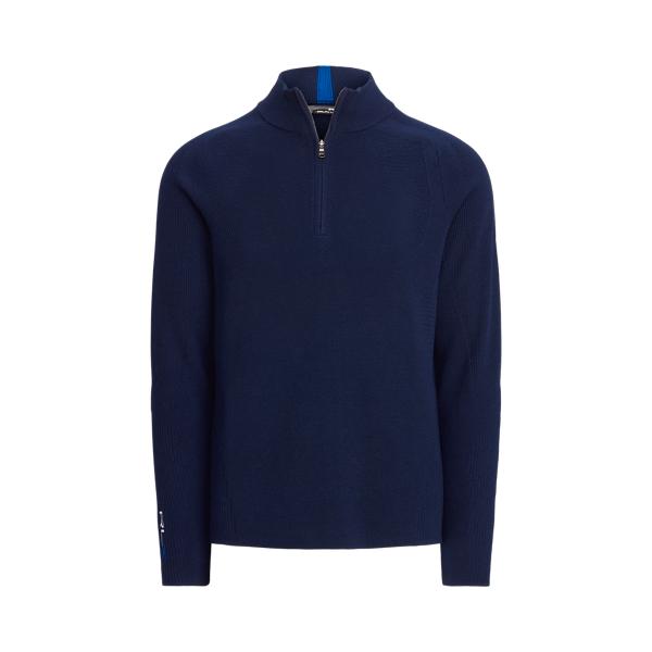 폴로 랄프로렌 남성 골프웨어 Polo Ralph Lauren Performance Wool Blend Sweater,French Navy