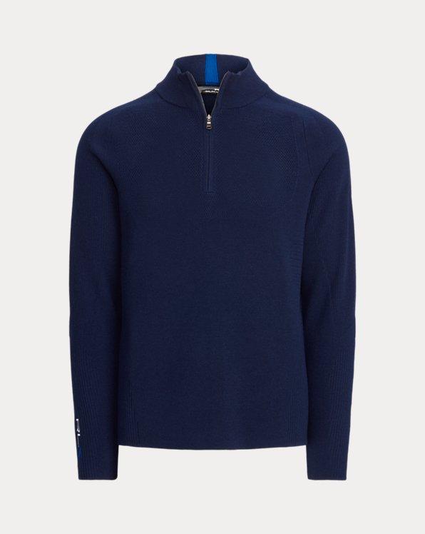 Pullover aus funktioneller Wollmischung