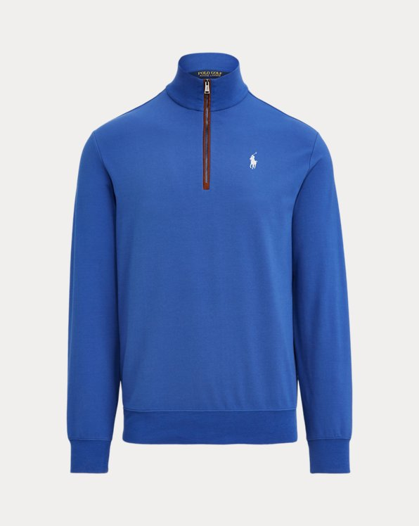 Slim-Fit Pullover aus French Terry