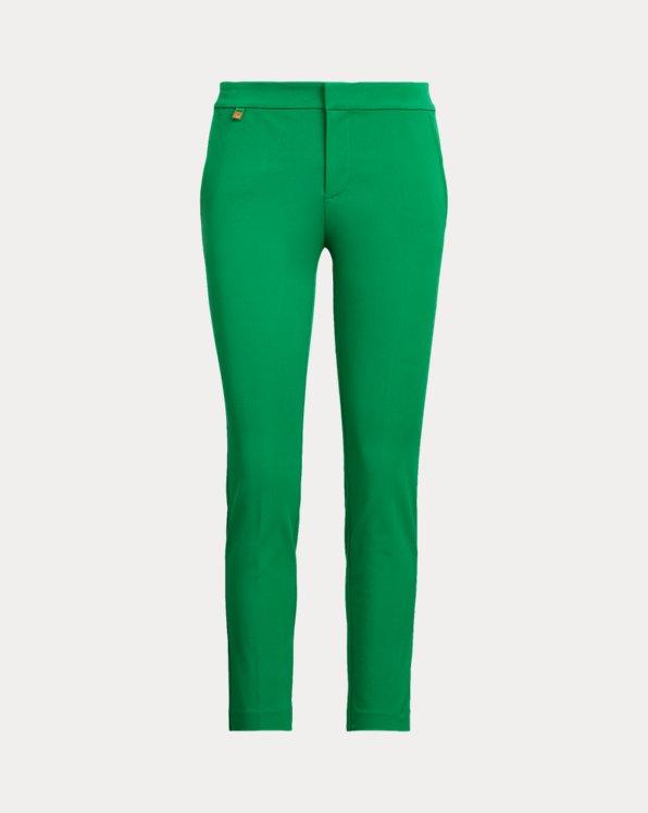 Cotton Twill Skinny Pant