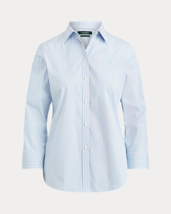 Easy Care Striped Cotton Shirt