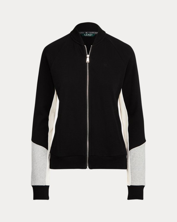 French Terry Cotton Jacket