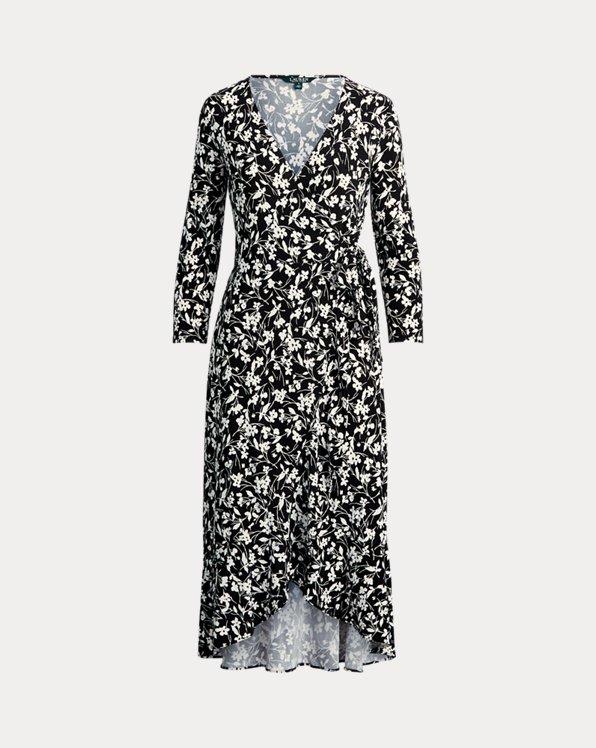 High-Low Jersey Dress