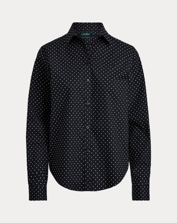 Easy Care Polka-Dot Shirt