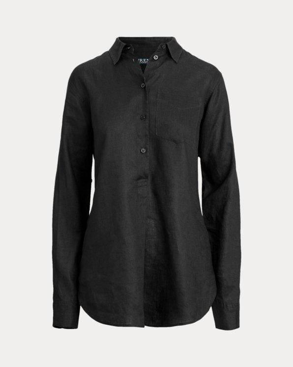 Linen Long-Sleeve Shirt