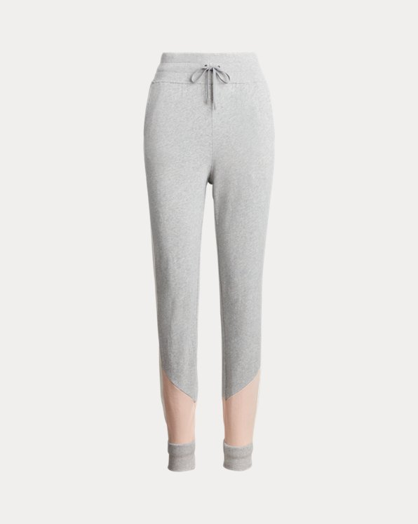 Three-Tone French Terry Pant