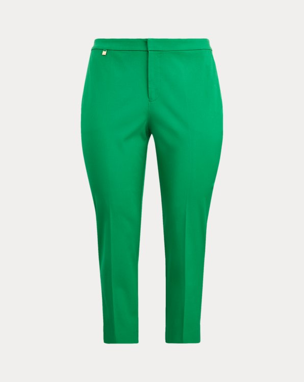 Cotton Twill Skinny Trouser