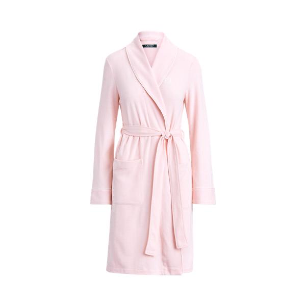 Polo Ralph Lauren Herringbone Cotton-Blend Robe
