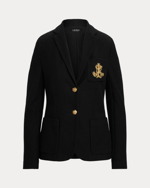 Patch Jacquard Blazer