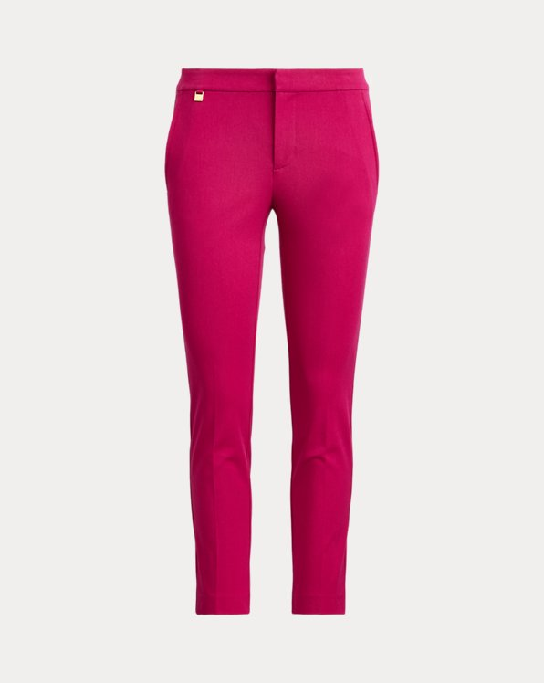 Cotton Twill Skinny Trouser