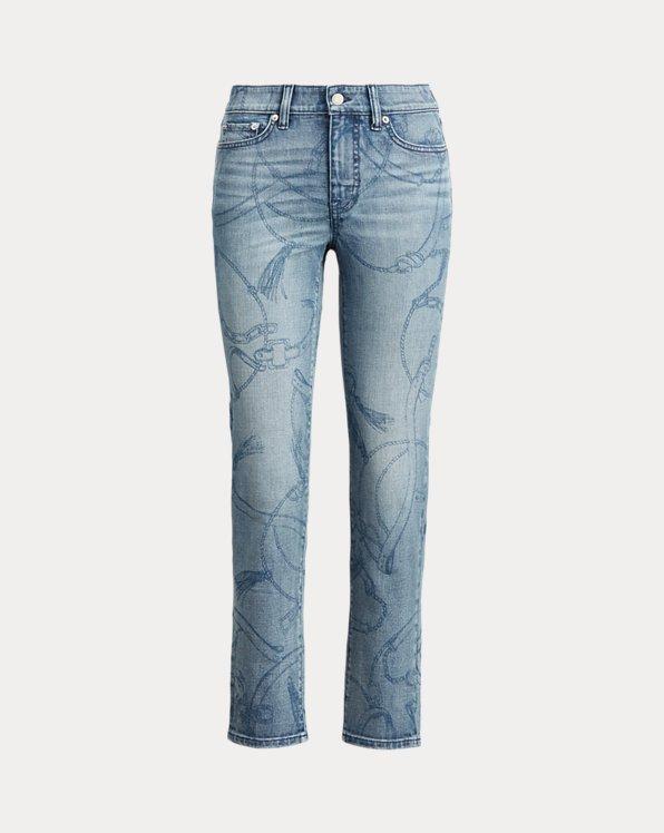 Premier Straight-Ankle-Jeans