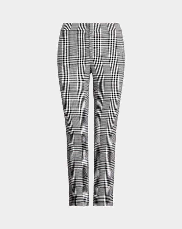 Plaid Cotton Trouser