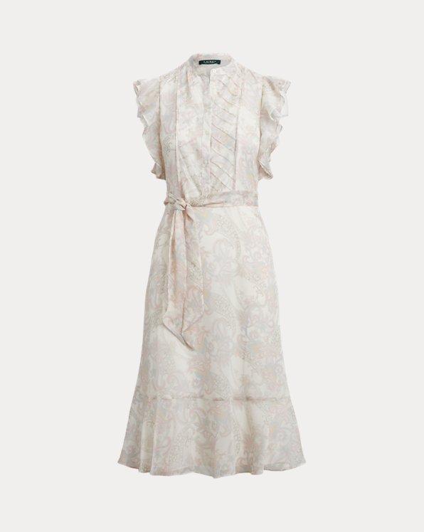 Paisley Georgette Dress
