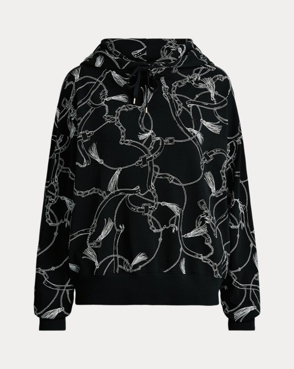 Print French Terry Hoodie