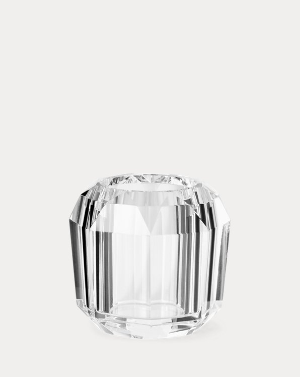 Leigh Faceted Crystal Votive