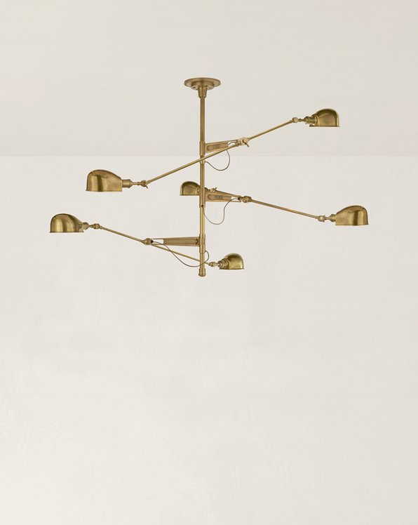 RL '67 Triple-Arm Chandelier