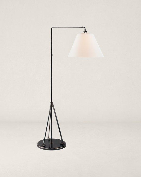 Brompton Swing-Arm Floor Lamp