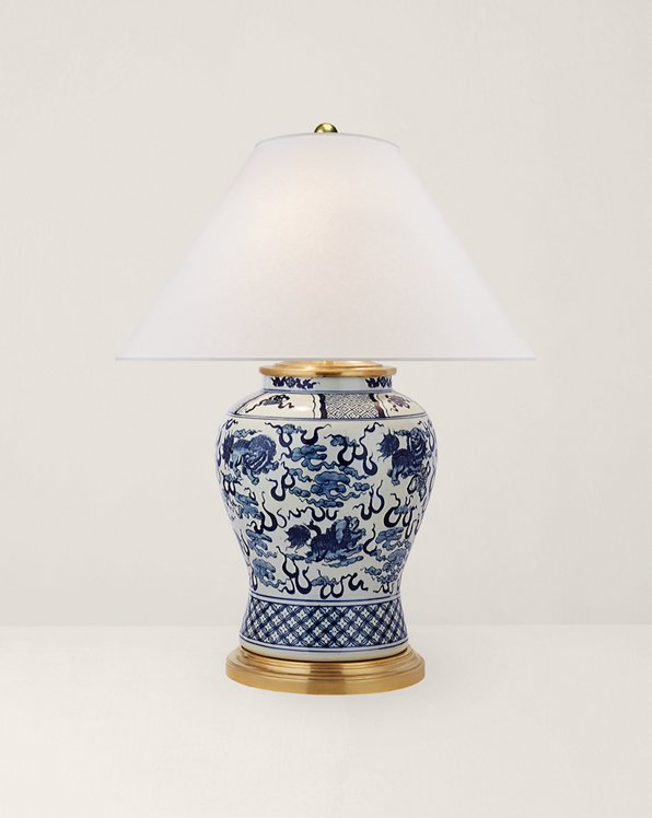 Foo Dog Medium Table Lamp