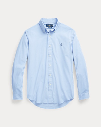 폴로 랄프로렌 Polo Ralph Lauren Custom Fit Performance Shirt,Dress Shirt Blue