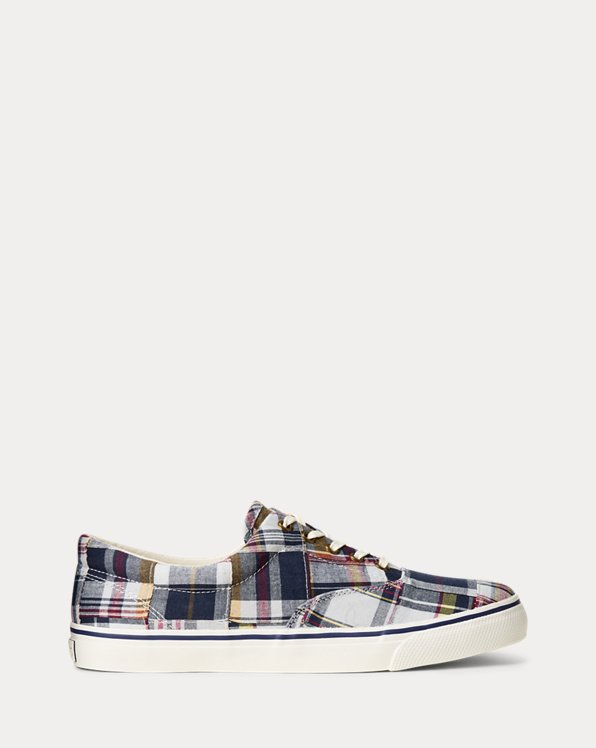 Cotton Madras Sneaker