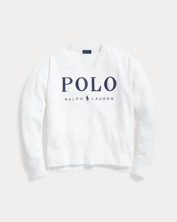 Sudadera de polar con logotipo