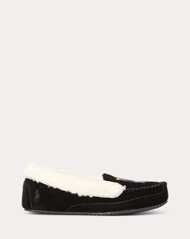 Polo Bear Shearling Slipper