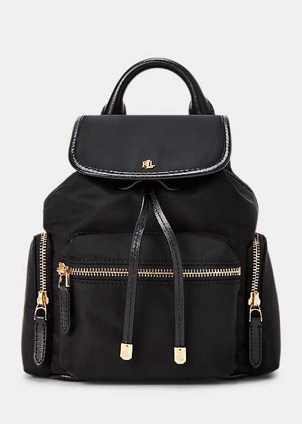 Polo RalphLauren Nylon Keely Small Backpack