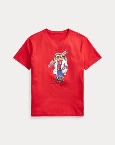 Classic Fit Ski Bear T-Shirt