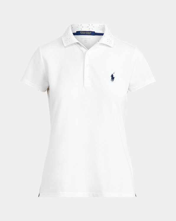 Eyelet Golf Polo Shirt