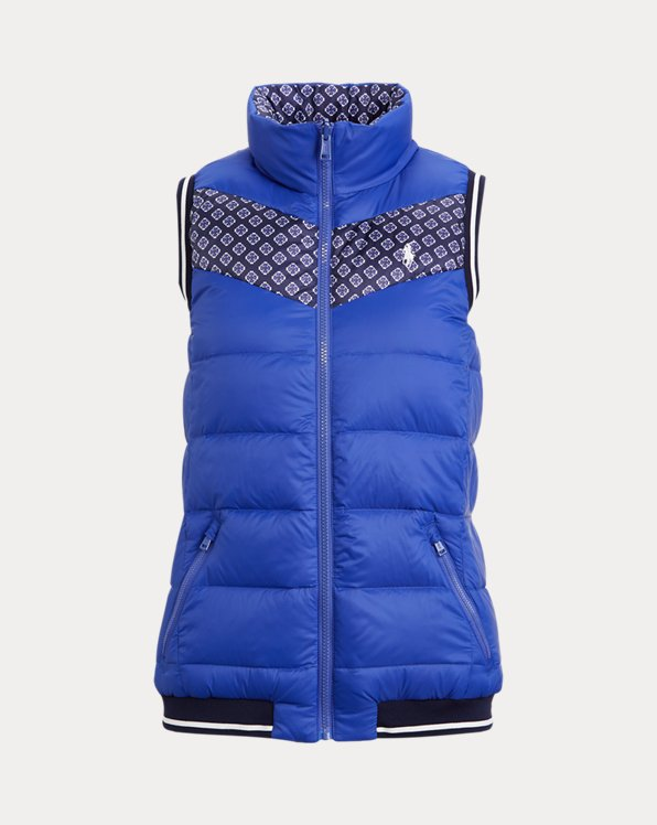 Reversible Down Golf Gilet