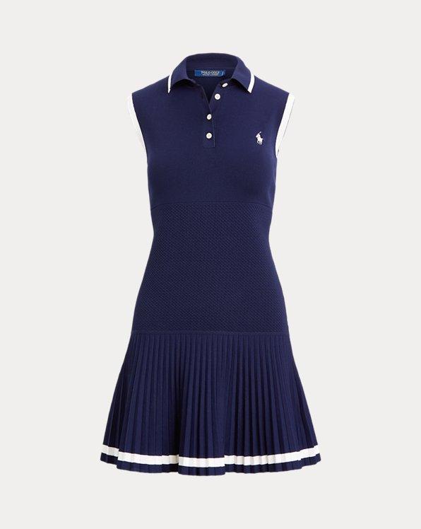 Sleeveless Polo Golf Dress