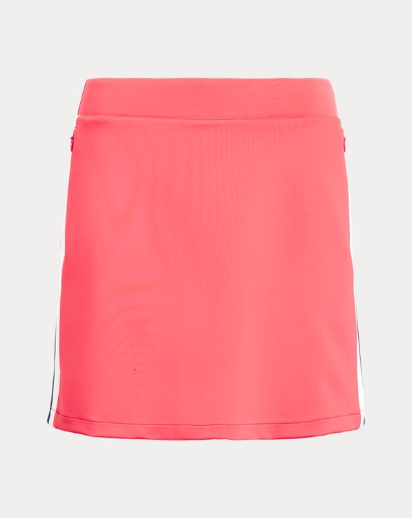 Stripe-Trim Golf Skort