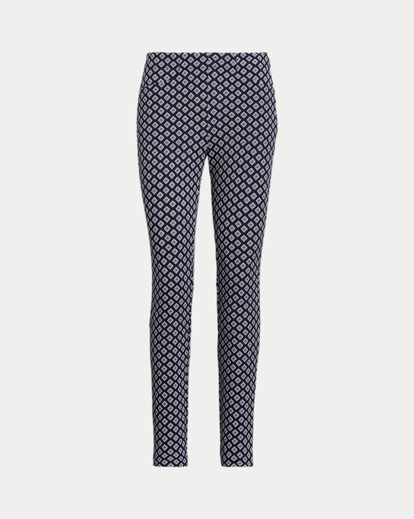 Print Stretch Golf Trouser