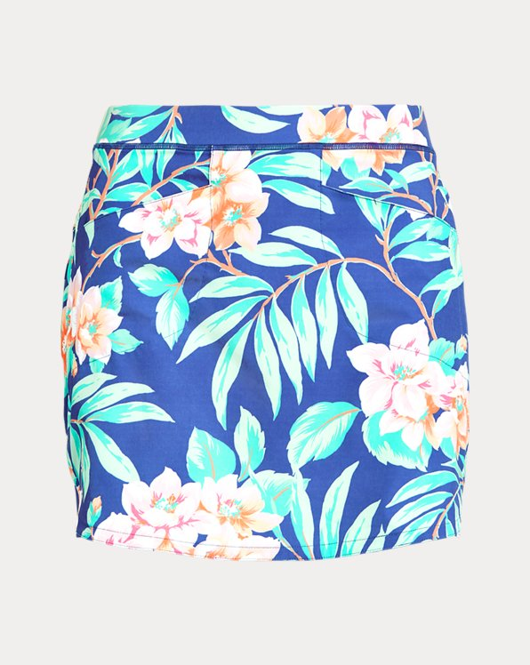 Floral Stretch Golf Skort