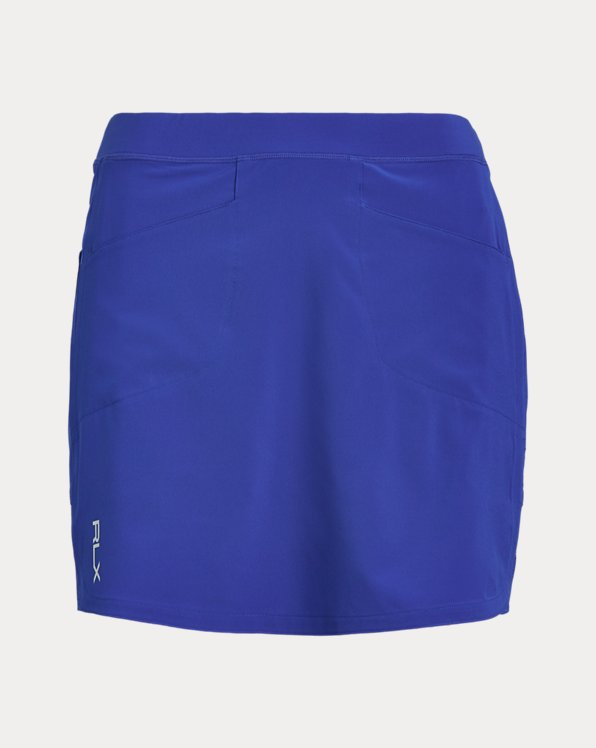 Perforated Stretch Golf Skort