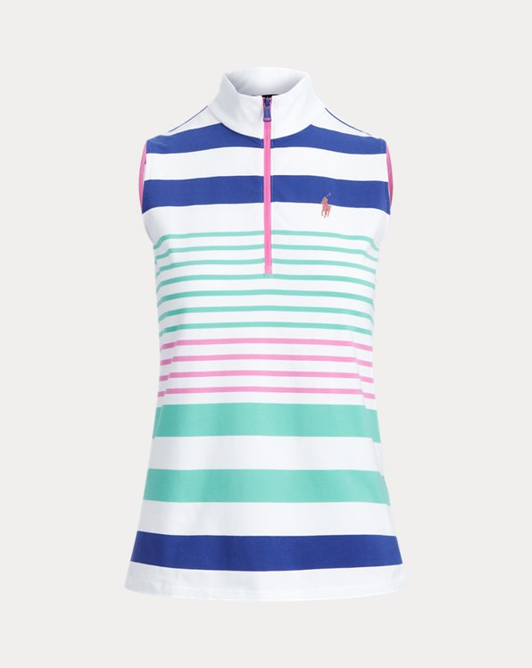 Sleeveless Golf Quarter-Zip