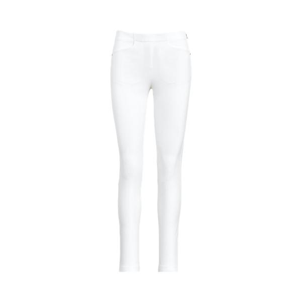 폴로 랄프로렌 Polo Ralph Lauren Stretch Athletic Pant,Pure White