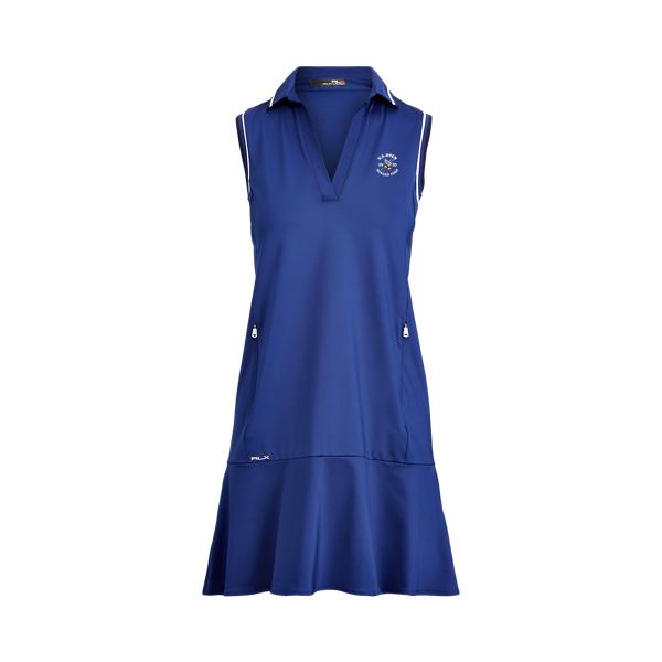 폴로 랄프로렌 Polo Ralph Lauren Sleeveless Polo Golf Dress,Royal Navy