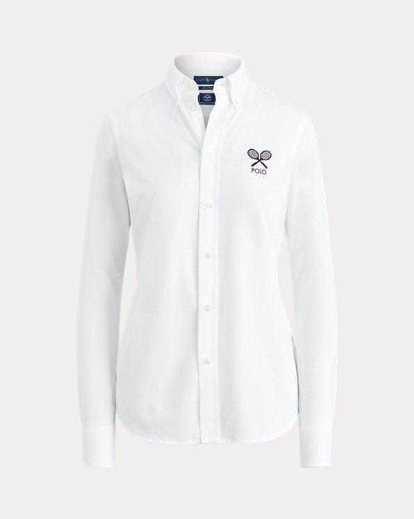 Chemise Wimbledon en coton Oxford