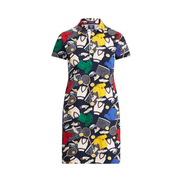 Wimbledon Graphic Polo Dress