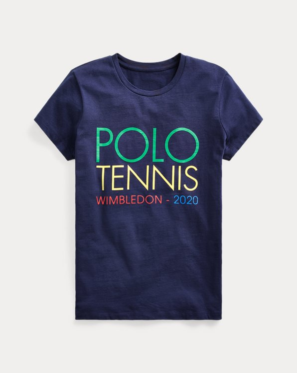 T-Shirt mit Wimbledon-Grafik