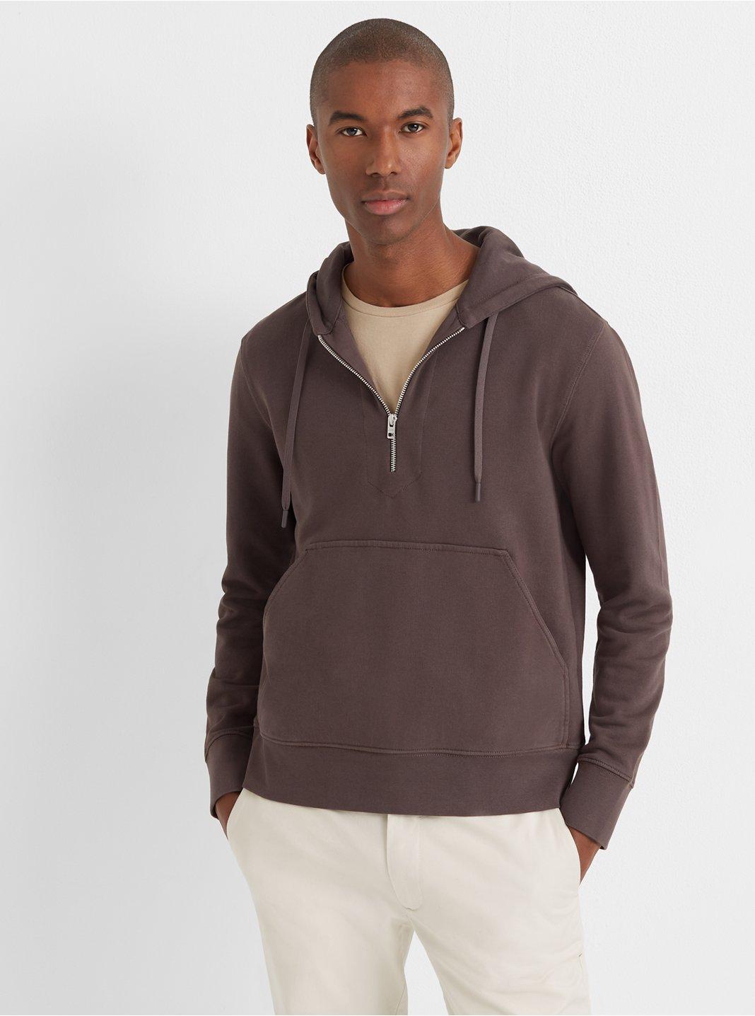 Pullover Zip Hoodie