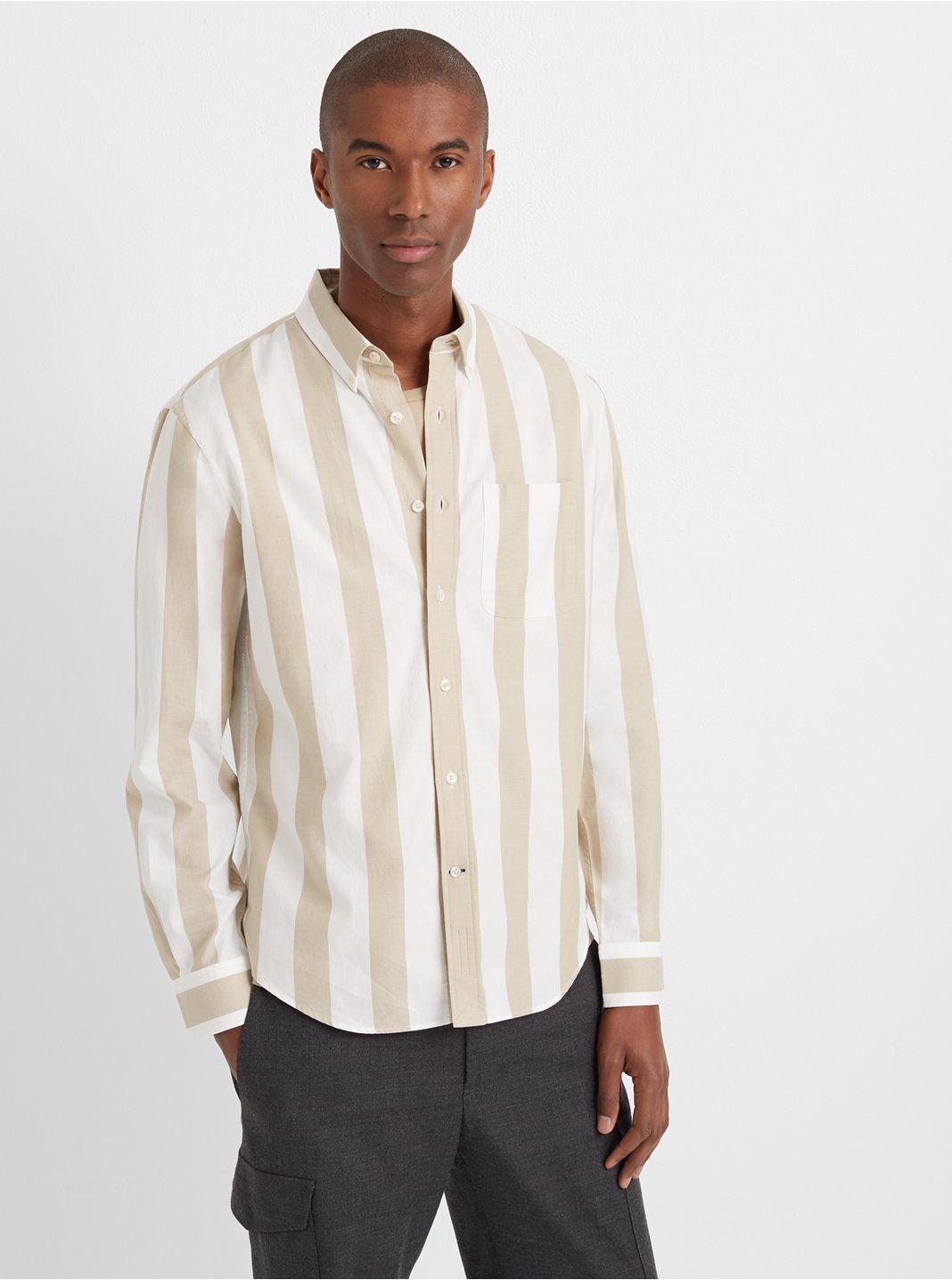 Slim Double-Stripe Shirt