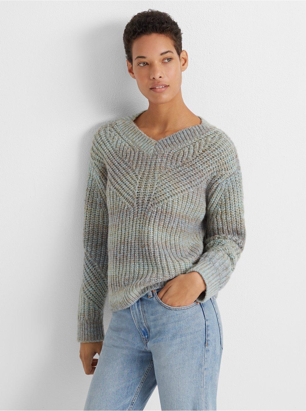 Watercolor Yarn Sweater