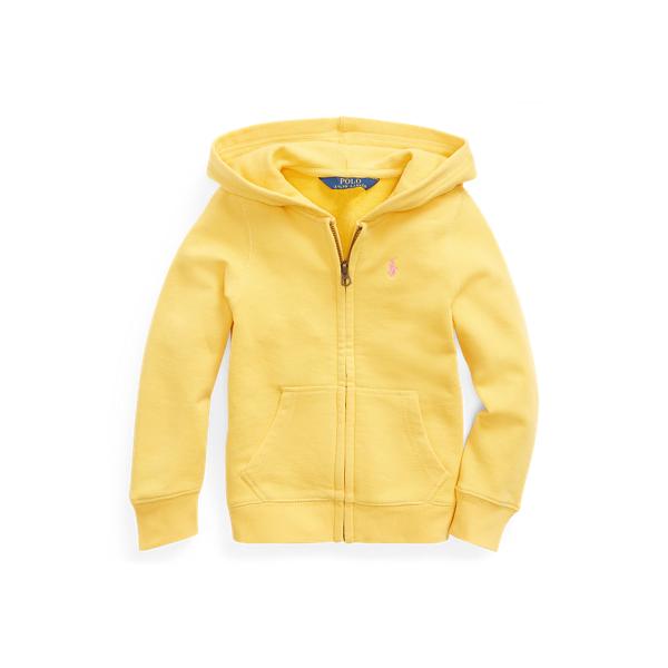 폴로 랄프로렌 Polo Ralph Lauren Cotton-Blend-Terry Hoodie,Signal Yellow Baja Pink