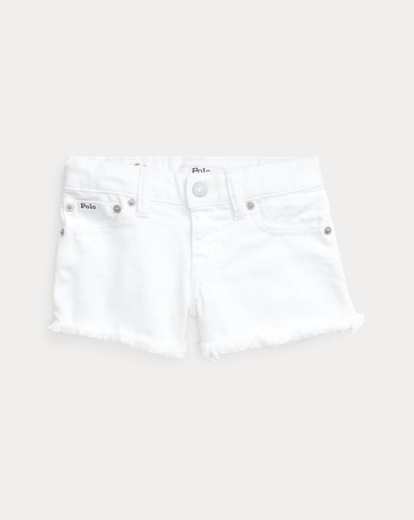 Short in denim di cotone