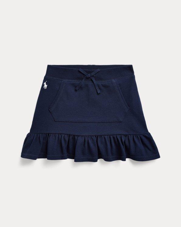 Ruffled Mesh Scooter Skirt